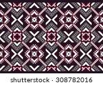 geometric ethnic pattern... | Shutterstock .eps vector #308782016