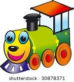 baby locomotive vector   Shutterstock .eps vector #30878371