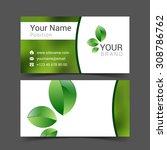 business card creative design...   Shutterstock .eps vector #308786762