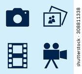 camera movie icons