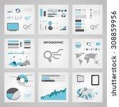 vector illustration of  seo... | Shutterstock .eps vector #308859956
