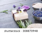 beauty product samples with... | Shutterstock . vector #308870948