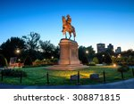 George Washington Monument In...