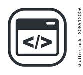 vector illustration of  seo... | Shutterstock .eps vector #308912006