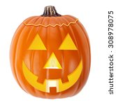 jack o lantern halloween... | Shutterstock . vector #308978075