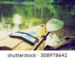 vintage photo of beautiful...   Shutterstock . vector #308978642