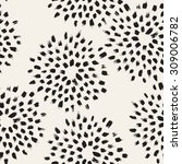 vector seamless pattern.... | Shutterstock .eps vector #309006782
