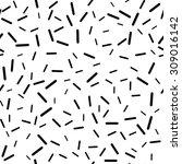 white vector seamless... | Shutterstock .eps vector #309016142