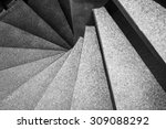 architecture detail spiral... | Shutterstock . vector #309088292