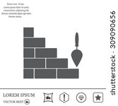 Vector Icons Brickwork And...
