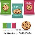design packaging for chocolate... | Shutterstock .eps vector #309093026