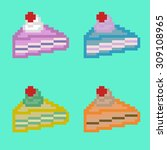 vector symbol of tasty cakes...