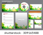 color corporate identity... | Shutterstock .eps vector #309165488