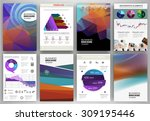 abstract vector backgrounds and ... | Shutterstock .eps vector #309195446
