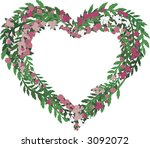 illustration of colorful roses... | Shutterstock .eps vector #3092072