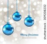 illustration holiday background ... | Shutterstock .eps vector #309208232