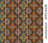 ethnic boho seamless pattern....   Shutterstock .eps vector #309216338