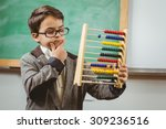 Pupil Dressed Up As Teacher...