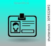 badge vector icon   Shutterstock .eps vector #309322892