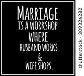 funny  inspirational quotation. | Shutterstock . vector #309326282