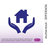 house vector icon | Shutterstock .eps vector #309330656
