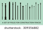 Columns For A Wrought Iron Fence