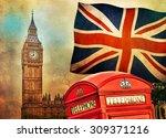 Symbols Of London  England  Th...