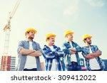 business  building  teamwork...   Shutterstock . vector #309412022