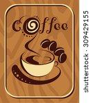 coffee | Shutterstock .eps vector #309429155