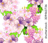 abstract elegance seamless... | Shutterstock .eps vector #309463736