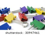 collection of colored... | Shutterstock . vector #30947461
