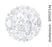 Perfect Circle Sea Composition...