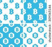 bitcoin patterns set  simple...