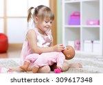 Beautiful Child Girl Playing...