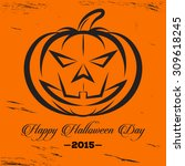 halloween logo | Shutterstock .eps vector #309618245
