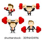 vector illustration   concept... | Shutterstock .eps vector #309643496