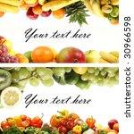 set of different bright tasty... | Shutterstock . vector #30966598