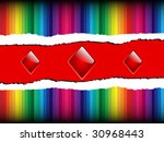 colorful background with red...