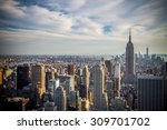 new york city  usa   september  ... | Shutterstock . vector #309701702