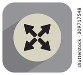 arrows icon | Shutterstock .eps vector #309717548