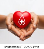 healthcare  medicine and blood... | Shutterstock . vector #309731945