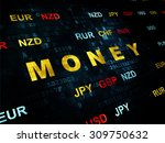currency concept  money on... | Shutterstock . vector #309750632