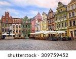 stary rynek  old marketplace... | Shutterstock . vector #309759452