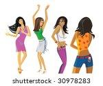 discotheque | Shutterstock .eps vector #30978283