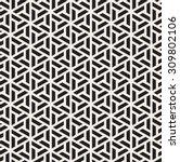 vector seamless pattern. modern ... | Shutterstock .eps vector #309802106