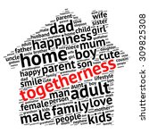 family info text graphics and... | Shutterstock .eps vector #309825308