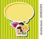 family theme elements   Shutterstock .eps vector #309825395