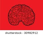 maze brain | Shutterstock .eps vector #30982912