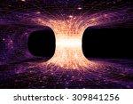 A Wormhole  Or Einstein Rosen...