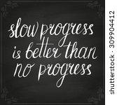 conceptual handwritten phrase... | Shutterstock .eps vector #309904412